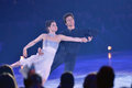 Tessa Virtue e Scott Moir Fotografia Stock