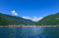 Tessin south switzerland lago maggiore a small town in the of summer Royalty Free Stock Image