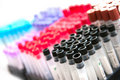 Test tubes abstract Royalty Free Stock Photo