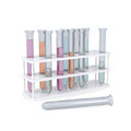Test tubes isolated render on a white background Stock Photo