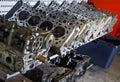 Testate di cilindro dell'automobile Fotografia Stock