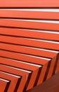 Teste padrão do feixe de telhado Fotos de Stock Royalty Free