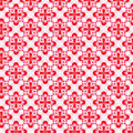 Teste padrão floral cor-de-rosa Imagem de Stock