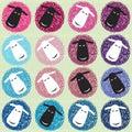 Teste padrão sem emenda com os carneiros coloridos diferentes dos desenhos animados Fotografia de Stock