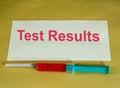 Tests médicaux Image libre de droits