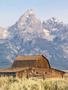 Teton Barn Royalty Free Stock Photo