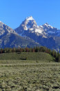 Teton Mountain Royalty Free Stock Images