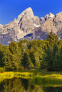 Tetons mountain Royalty Free Stock Photography