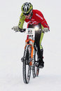 Teva On Snow Bike Criterium Stock Images