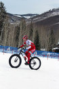Teva On Snow Bike Criterium Royalty Free Stock Photo