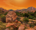 Texas Canyon Royalty Free Stock Photo