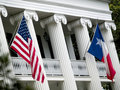 Texas Governors Mansion Stock Photography