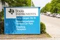 Texas instruments in fã  rstenfeldbruck Lizenzfreies Stockbild