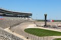 Texas motor speedway a beautiful spring day at the Royalty Free Stock Photography