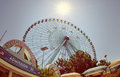 Texas Star ferris wheel Royalty Free Stock Photo