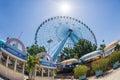 Texas Star ferris wheel Royalty Free Stock Photo