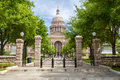 Texas State Capitol front view Royalty Free Stock Photo