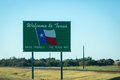 Texas Welcome Royalty Free Stock Photo