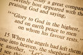 Text from the Bible Stock Photos