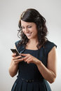 Text messaging Royalty Free Stock Photo