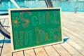 Text School Holidays Written I...