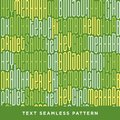 Text seamless pattern with word hello in different languages. Fr
