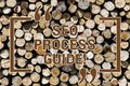 Text sign showing Seo Process Guide. Conceptual photo set actions improve online visibility website in engines Wooden