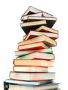 Textbook pile