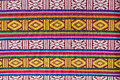 Textile of Bhutan Royalty Free Stock Photo