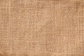 Textile burlap background horizontal with natural texture Stock Photography