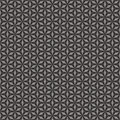 Textile cloth black and white