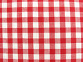 Textile cloth surface red and white Stock Images