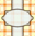 Textile pattern vector retro with decoration Stock Photo