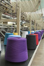Textile Production - Weaving Stock Image