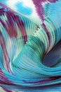 Textile wave background Stock Image