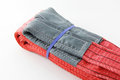Textile webbing sling Royalty Free Stock Photo