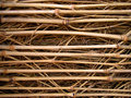 Textura de bambu do wattle Fotos de Stock Royalty Free