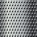 Textura do grater do metal Fotografia de Stock Royalty Free