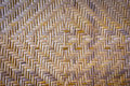 Textura do weave de bambu Fotografia de Stock Royalty Free