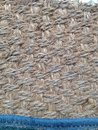 Texture backgroud gunny fabric Stock Photography