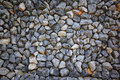 Texture and background of granite stone wall. Royalty Free Stock Photo