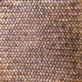 Texture of bamboo weave for background Stock Photography