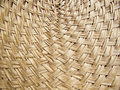 Texture of bamboo weave curve Royalty Free Stock Photo