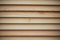 The texture of the blinds in the tree. Wood not processed, light, pine Royalty Free Stock Photo