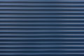 Texture blue blinds, roller blinds, horizontal Royalty Free Stock Photo
