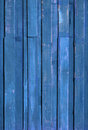 Texture of Blue color paint plank Stock Photography