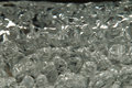 Texture  boiling clear water Royalty Free Stock Photo