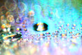 Texture  bokeh water drops Royalty Free Stock Photo