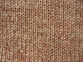 Texture of brown knitted linen Royalty Free Stock Image
