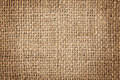 Texture of a burlap Royalty Free Stock Photo